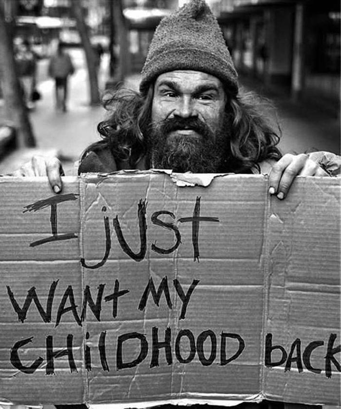 'Csak a gyerekkoromat akarom visszakapni'
