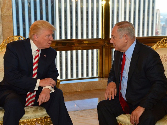 """""""Maradj erős Izrael!"""": a Facebookon válaszolt Netanjahu Trump Twitter-üzenetére"""