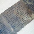 Egy hónapig látható Jeruzsálemben a legrégebbi Tízparancsolat