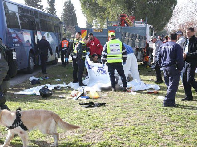 'Intifáda kamion': Nizza és Berlin után Jeruzsálem