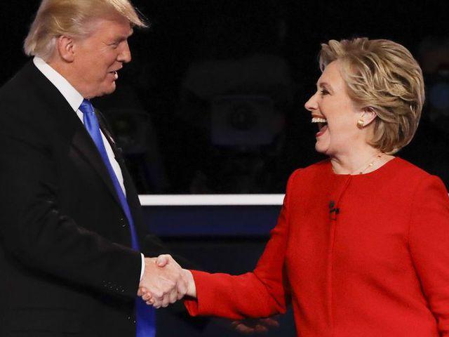 Videó: Kálmán Olga és Havas Henrik hangján vitázott Hillary Clinton és Donald Trump
