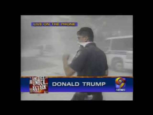"""""""Bombák is robbantak a WTC-ben"""" - Donald Trump interjúja 2001. szeptember 11-én (magyar felirattal)"""