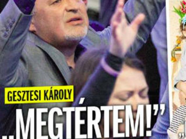 """""""Adjátok le, vállalom!"""": Videón Gesztesi Károly vallomása a hitről"""