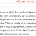 Amerikai Népszava: Orbán és Németh felelős az orlandói mészárlásért