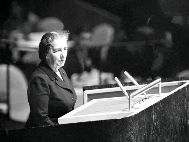 """Golda Meir az ENSZ-ben: """"A magyar nép szenvedésének vessenek véget!"""""""