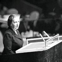 Golda Meir az ENSZ-ben: