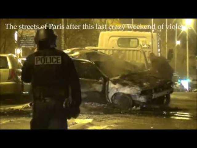 Párizs, háborús övezet, 2017 február: Drámai képek a migránszavargások után