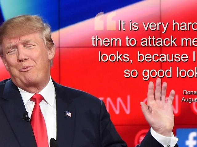 """""""Nagyon jóképű vagyok"""": 27 elképesztő idézet Donald Trumptól"""