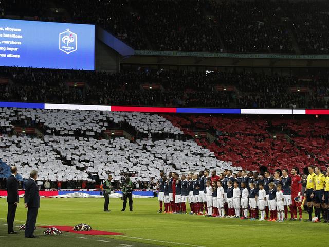 Három stadion, három válasz a párizsi terrorra