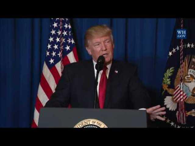 Exkluzív: Donald Trump nyilatkozata Szíriáról vágatlanul, magyar felirattal