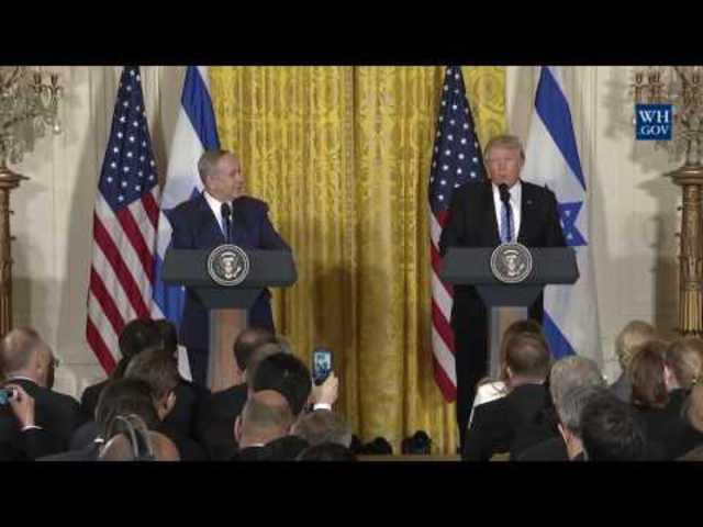 Vágatlanul, magyar szinkronnal: Donald Trump és Benjamin Netanjahu sajtótájékoztatója