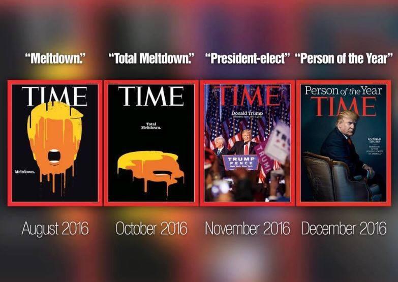 Négy TIME-címlap, ami mindent elmond 2016-ról és a médiáról