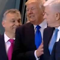 Orbán megpróbált fotózkodni Trumppal – nagyon kínos vége lett