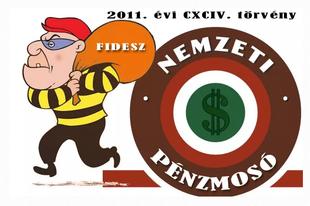 A Fidesz keményen küzd a pénzmosás ellen, ha nem a saját pénzéről van szó