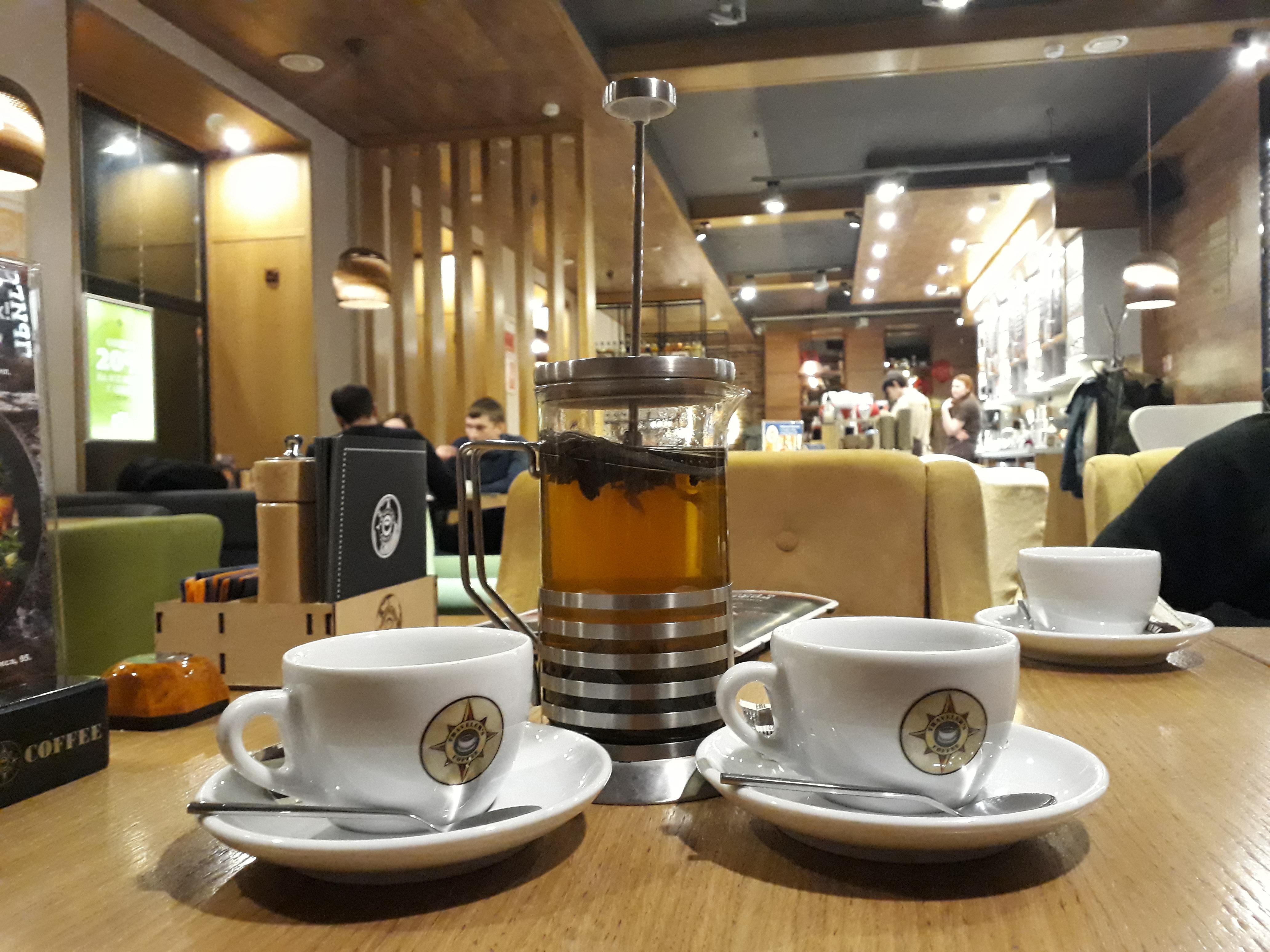Kávé Krasznojarszkban