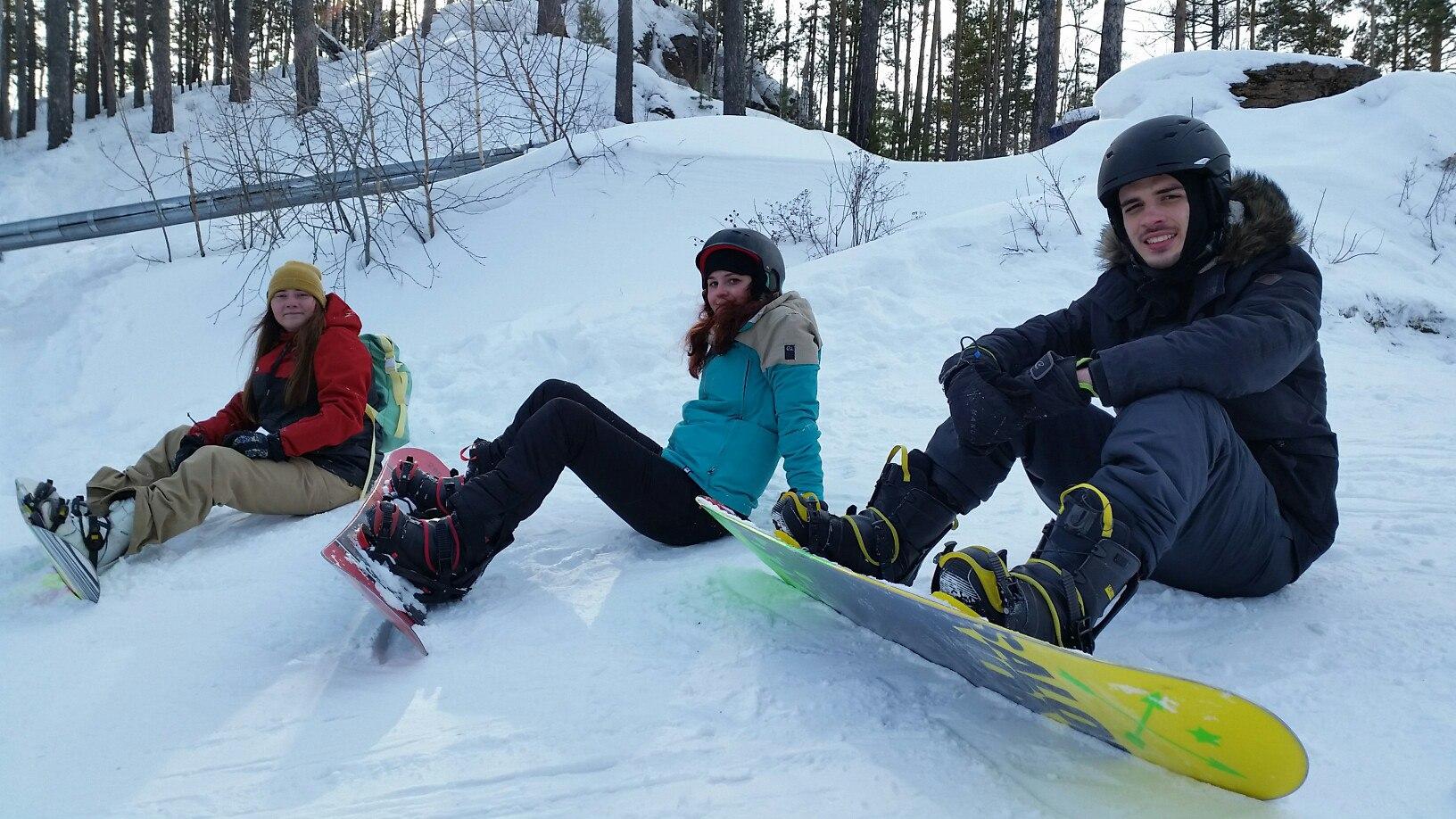 Életem első snowboard órája
