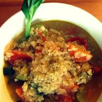 JÁTÉK és recept: egy egyszerű és egészséges perui quinoa-leves