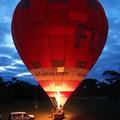 Lenyűgöző hőlégballontúra Melbourne fölött napkeltekor
