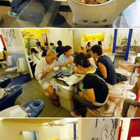 Bizarr: étterem és fantom a WC-ben