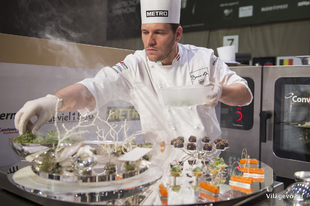 All the plates and platters of the Bocuse d'Or Europe, 2016 Budapest