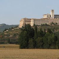 ASSISI -SZENT FERENC -TEMPLOM