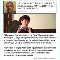 Makranczi Zita bíró elmebeteg!