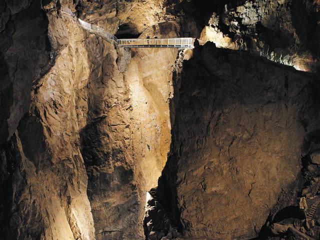 A Skocjan barlangrendszer - Szlovénia
