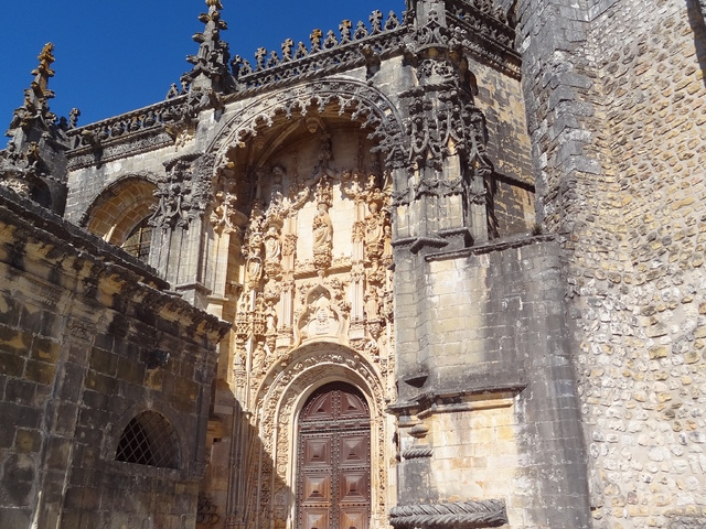 A tomari Krisztus-kolostor - Portugália