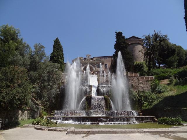 A Villa d´Este Tivoliban - Olaszország