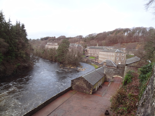 New Lanark (Skócia) ipari mintatelepülés - Egyesült Királyság