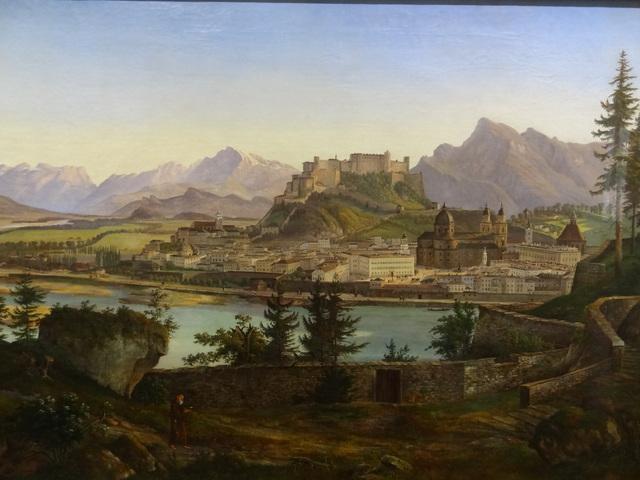 Salzburg városának történelmi központja - Ausztria