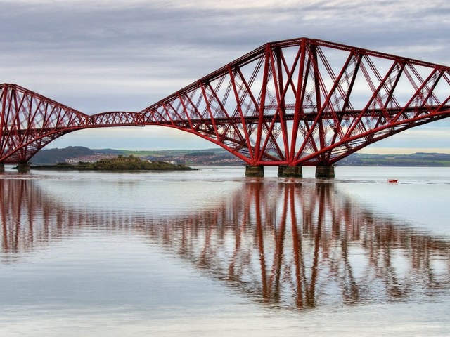 Forth Bridge (Skócia) - Egyesült Királyság
