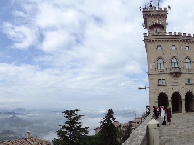 San Marino történelmi központja és a Monte Titano - San Marino