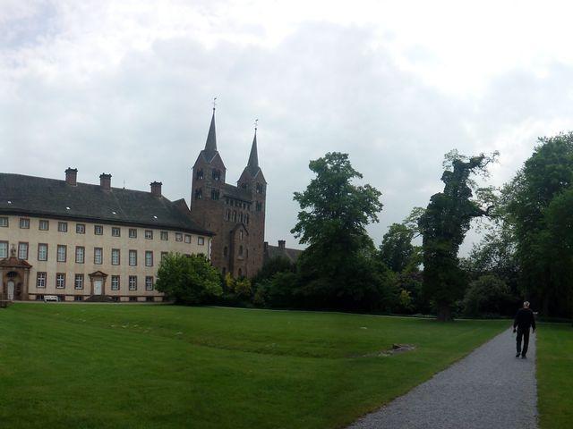 Corveyi apátság és kastély - Németország