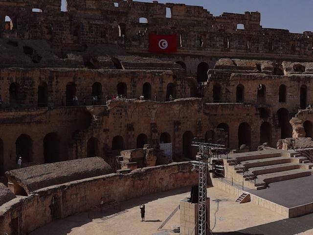 Az El-Djemi amfiteátrum - Tunézia