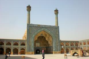 A Péntek-mecset Iszfahánban (Irán)