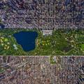 Elképesztő 3D légi panorámafotó a Central Parkról