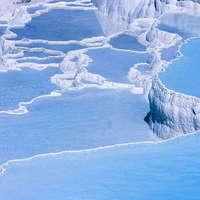 Pamukkale - a hófehér mészkőpalota