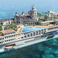 Monaco egy luxusjacht fedélzetén