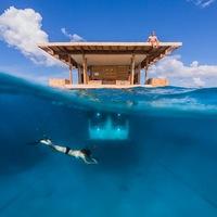 Megnyílt Afrika első vízalatti hotelszobája