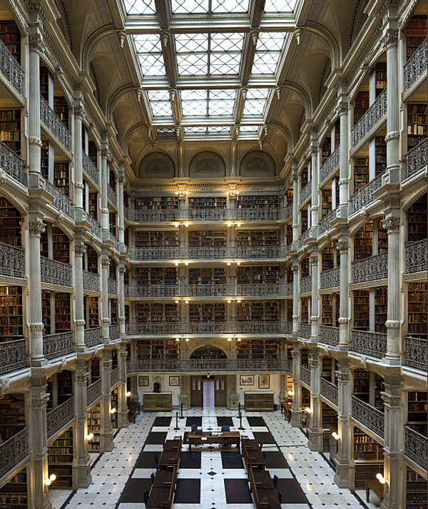 George Peabody Library, Johns Hopkins University, Baltimore,_1.jpg