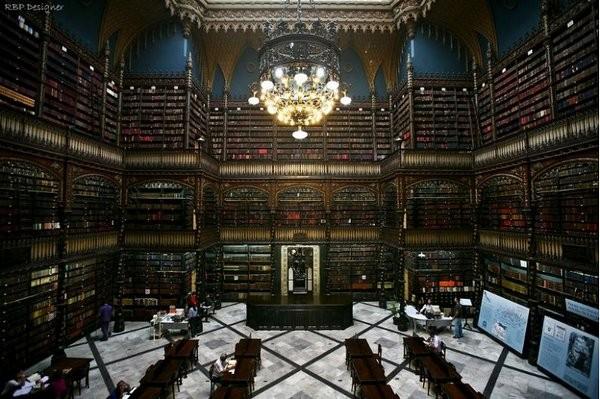 Real Gabinete könyvtár, Rio De Janeiro.jpg