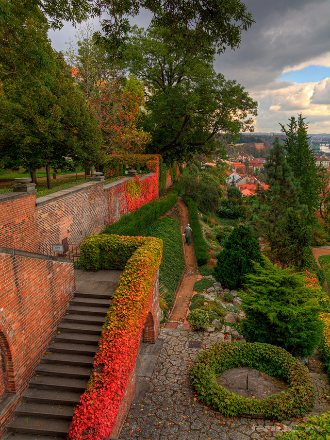 In The Gardens of Prague Castle.jpg