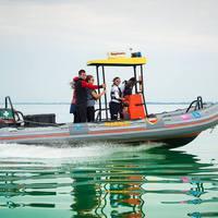 Horgászok kerültek veszélybe