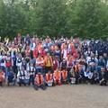 Mentőmellény viselési világrekord kísérlet - Magyarországon először a VMSZ-szel
