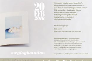 20. Esztergomi Fotográfiai Biennálé - beszélgetés Kovács Melindával