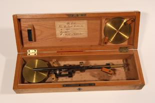 Planiméter a Dél-dunántúli Vízügyi Igazgatóság gyűjteményéből