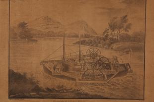 Carolina - 200 éve bocsátották vízre az első dunai gőzhajót