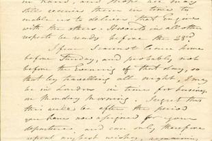 IFJ. JAMES WATT  levele Széchenyihez