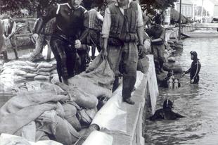 1970-es árvíz a Tiszán